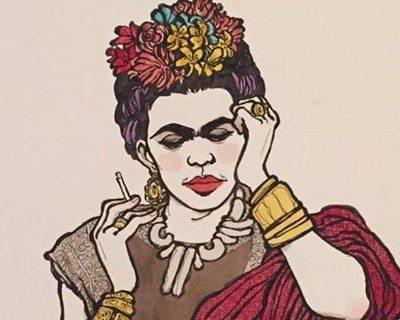 Spritzbook3 - Vanna Vinci disegna Frida Khalo